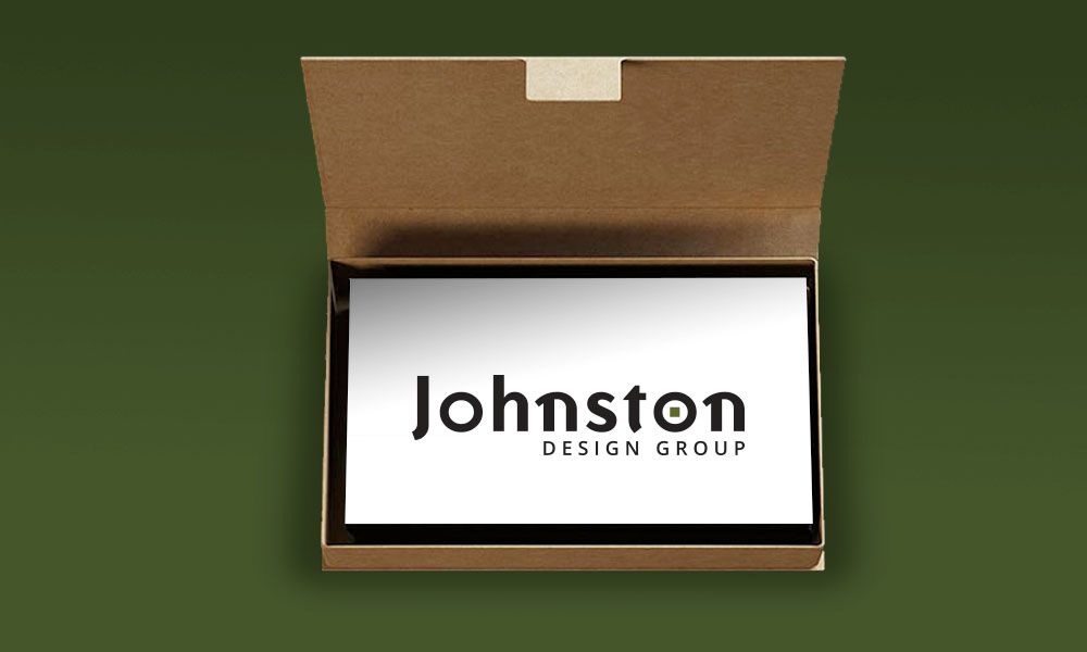 Johnston Design Group website redesign