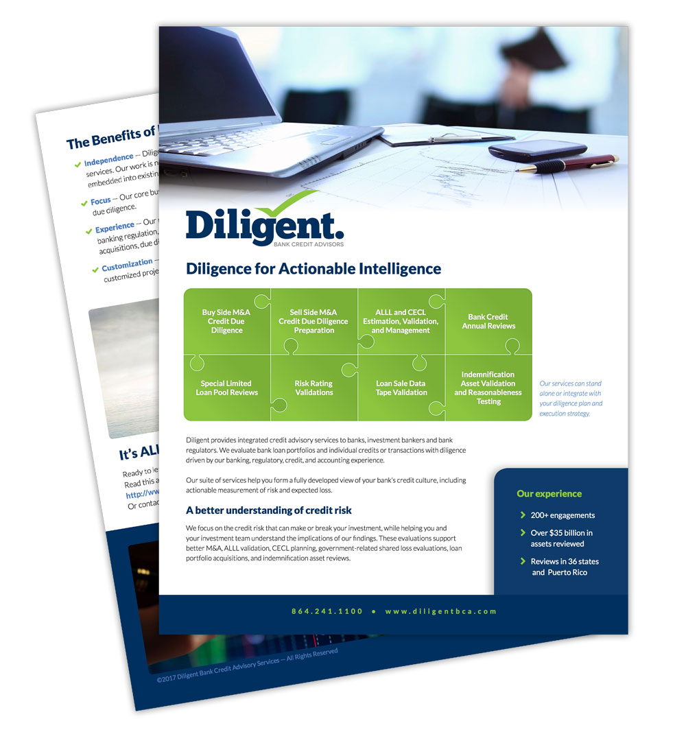 Diligent Print and Collateral Design