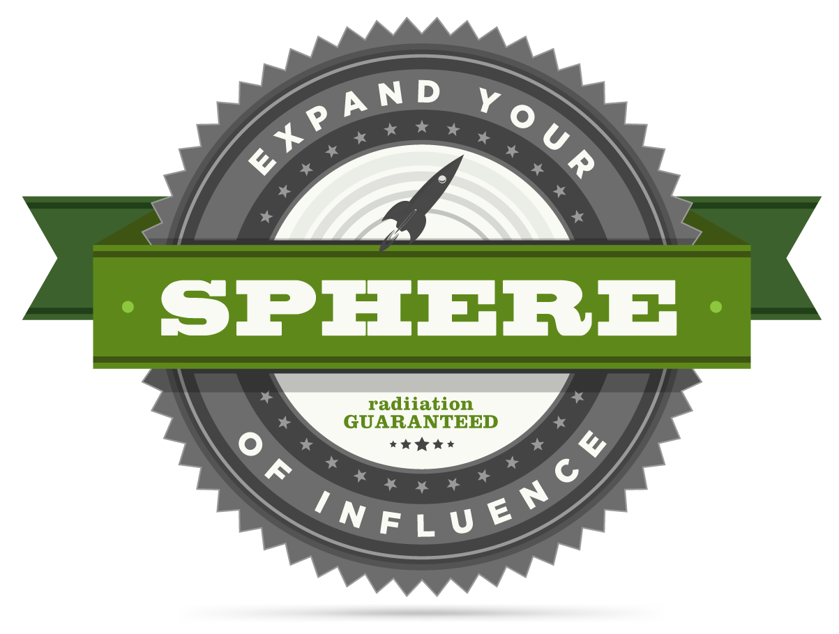 Expand your sphere of influence - radii