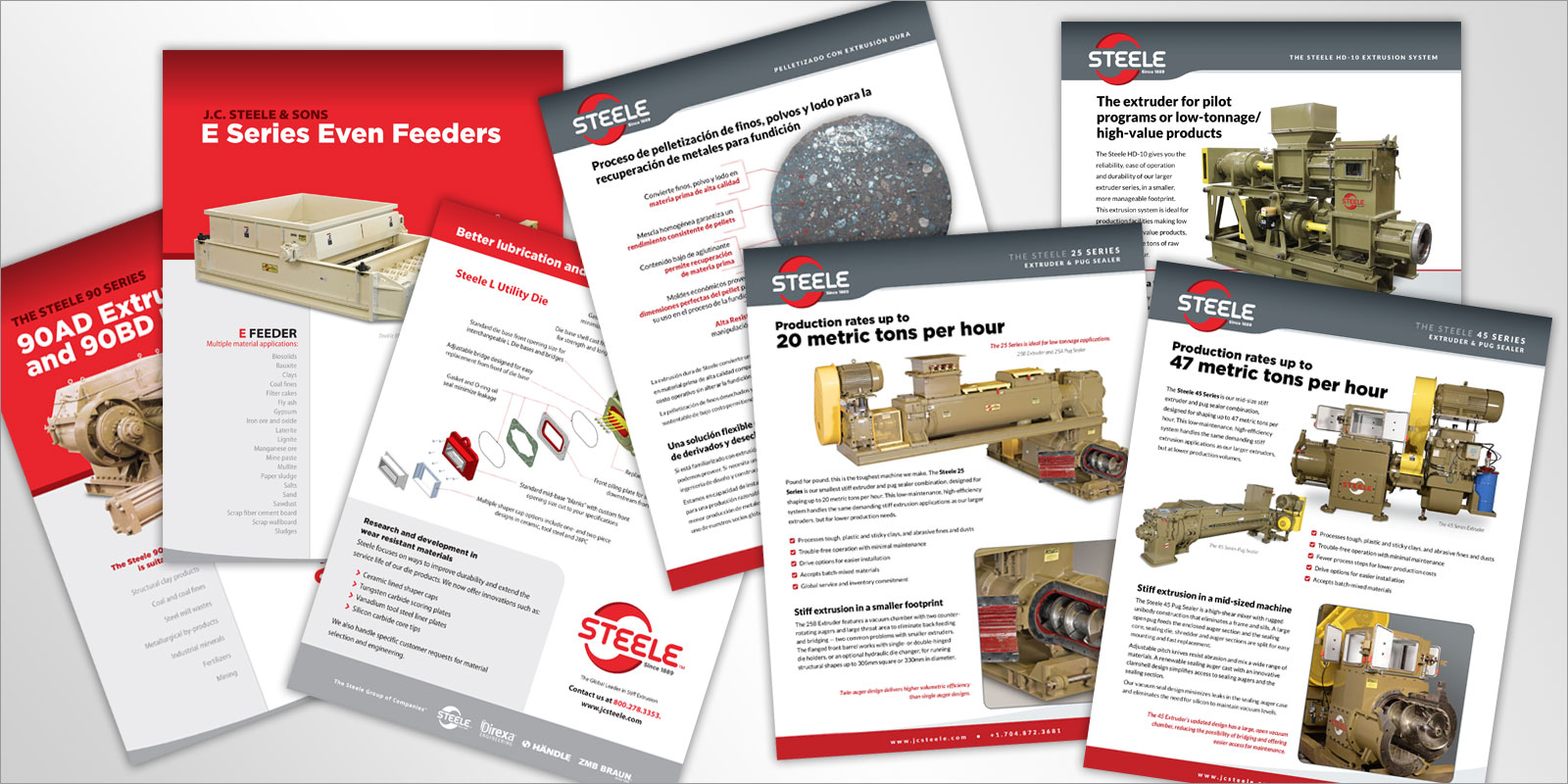 Steele Print and Collateral Design