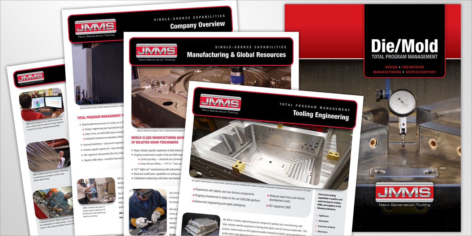 JMMS Print Design - Brochures and Datasheets