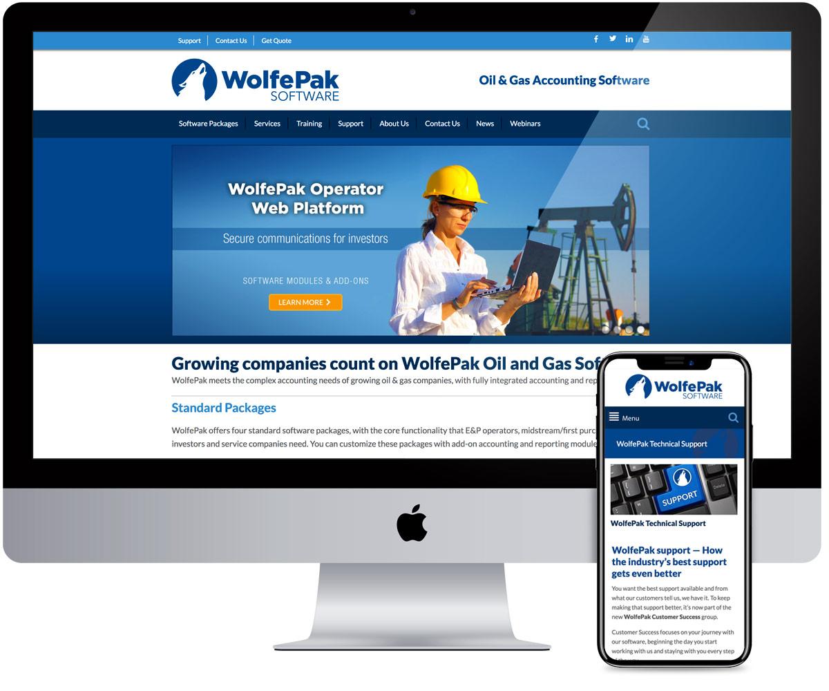 WolfePak - Web Design and Development