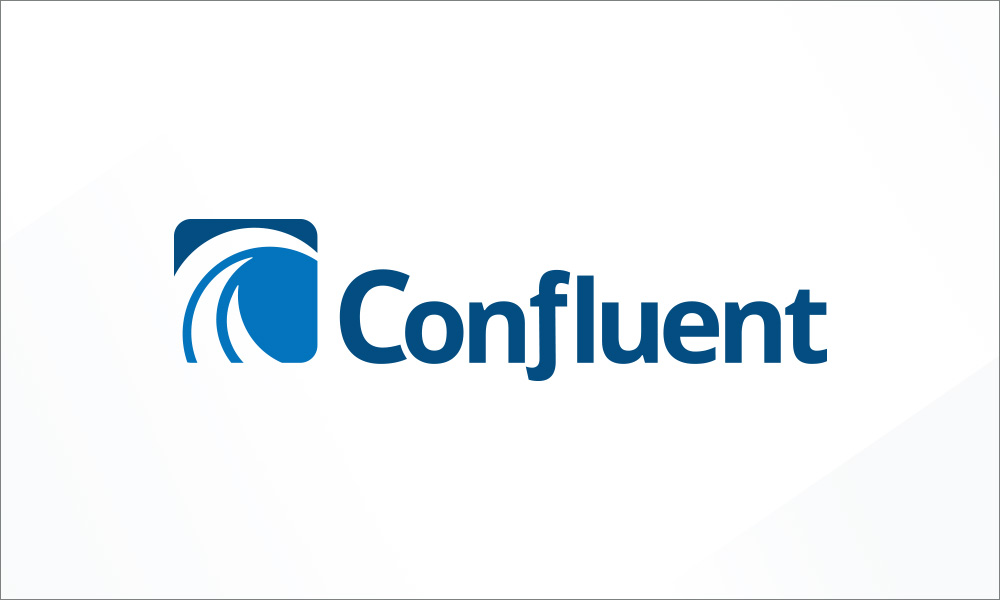 Confluent logo design by radii