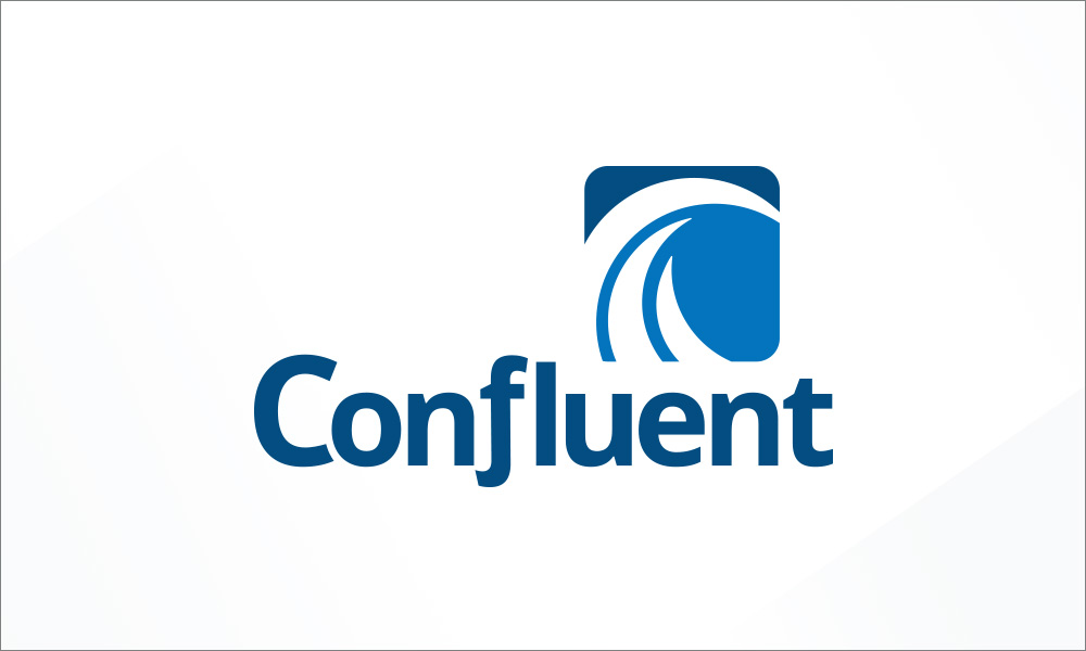 Confluent logo design by radii