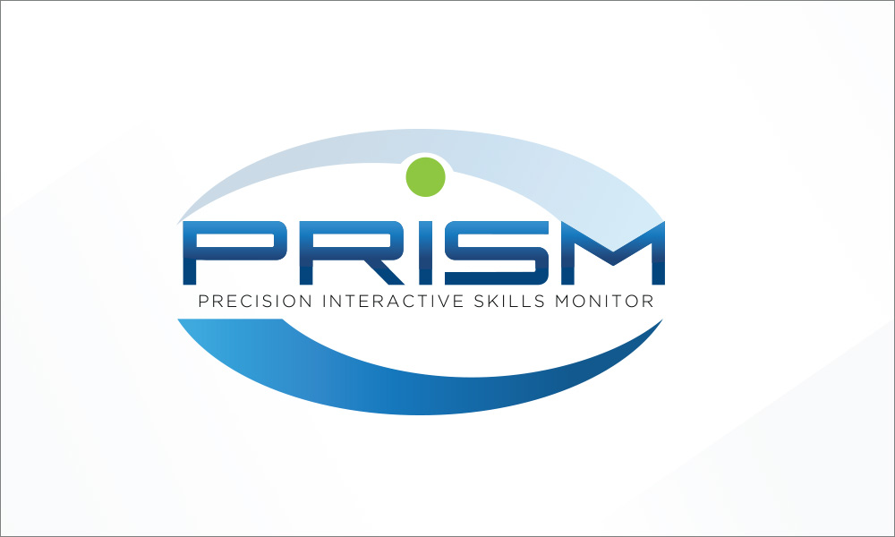 PRISM logo by radii
