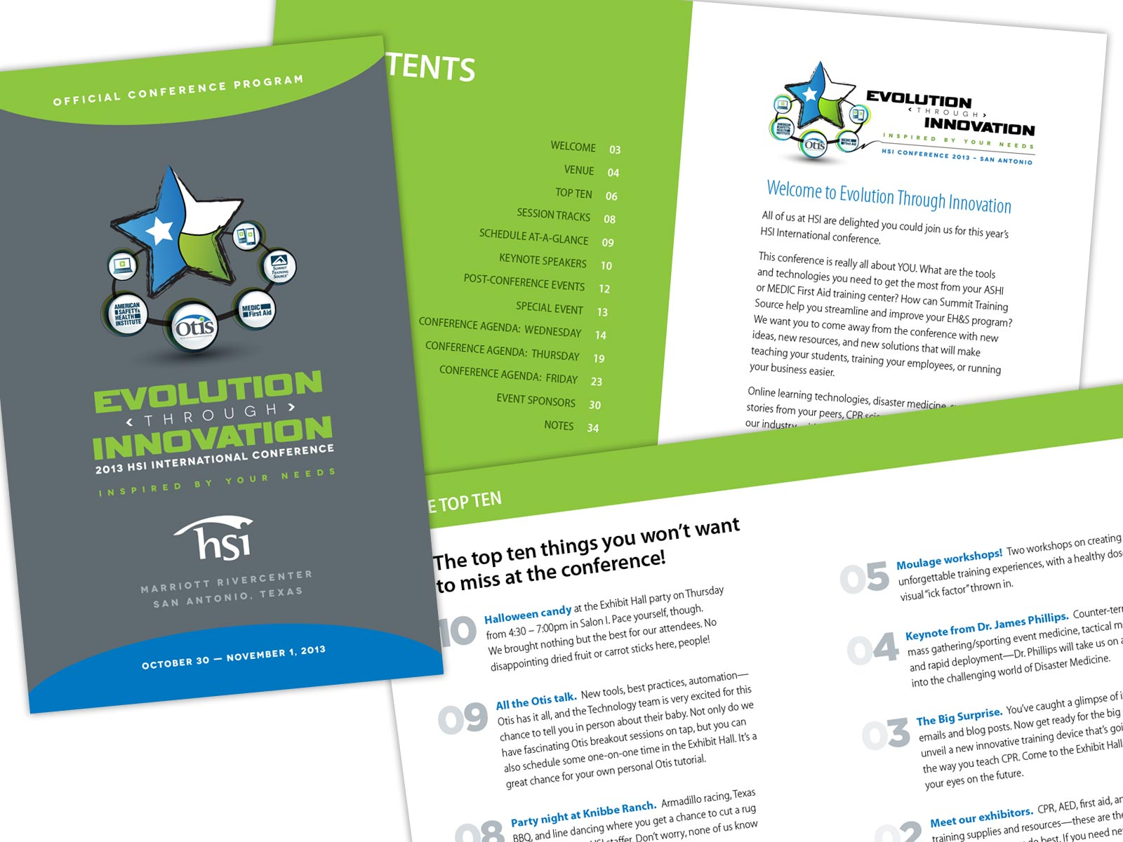 HSI Annual Conference Marketing / 2013 Samples