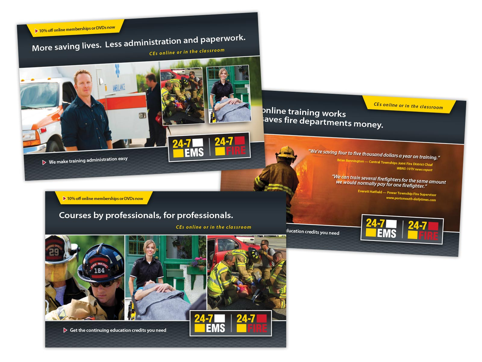 HSI Direct Mail Samples