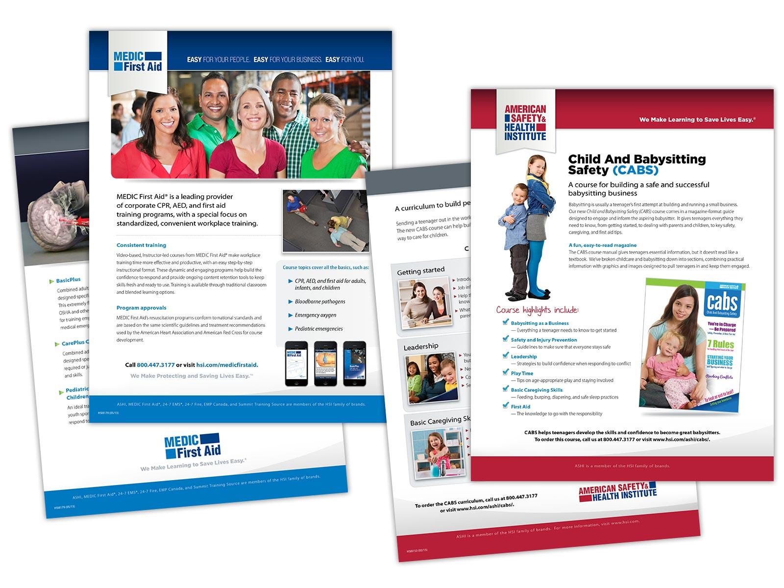 HSI Sales Sheet Design