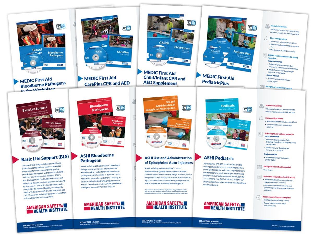 HSI Sales Spec Sheet Design
