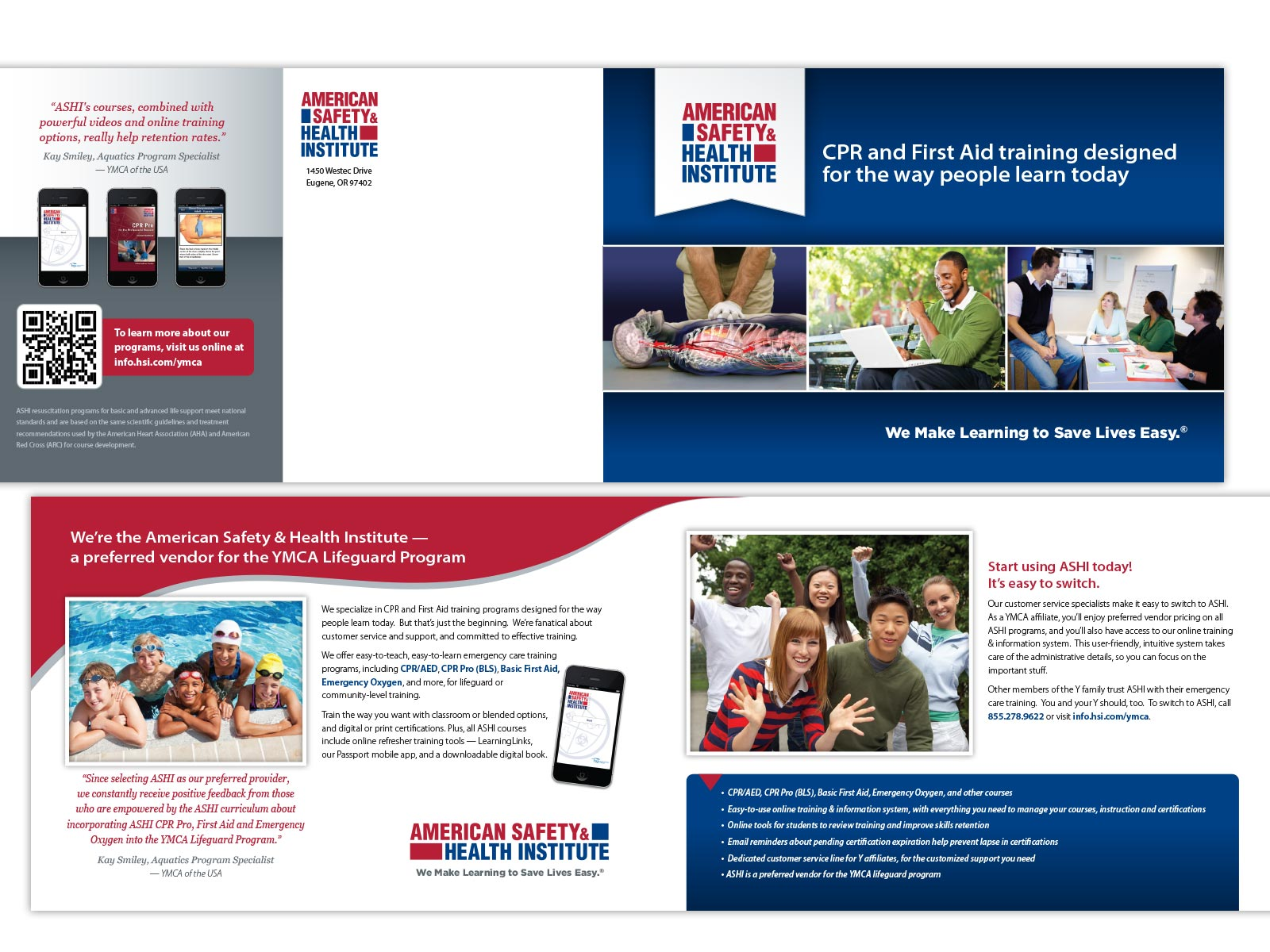 HSI / YMCA Direct Mailer