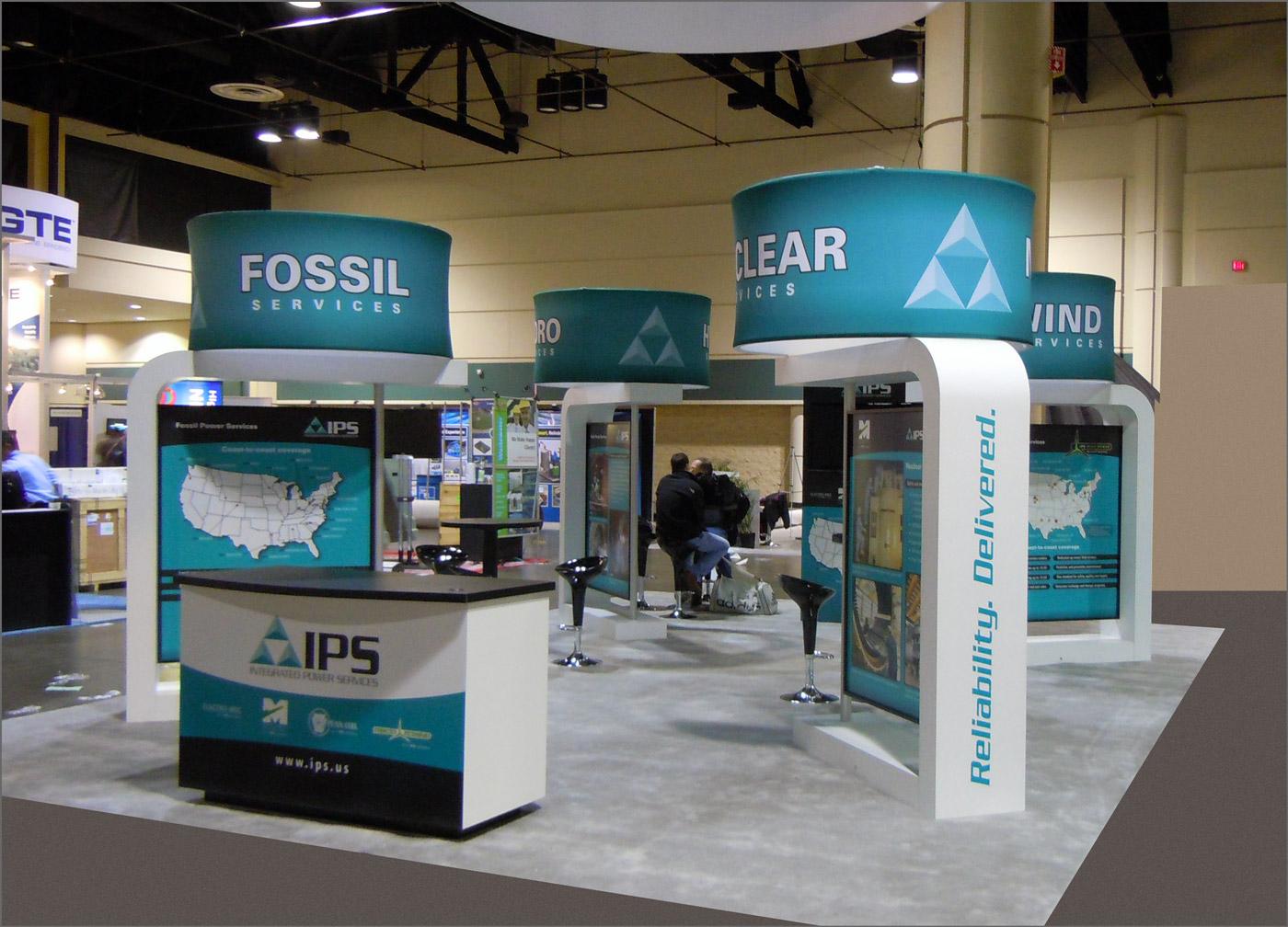 IPS Tradeshow Display Design