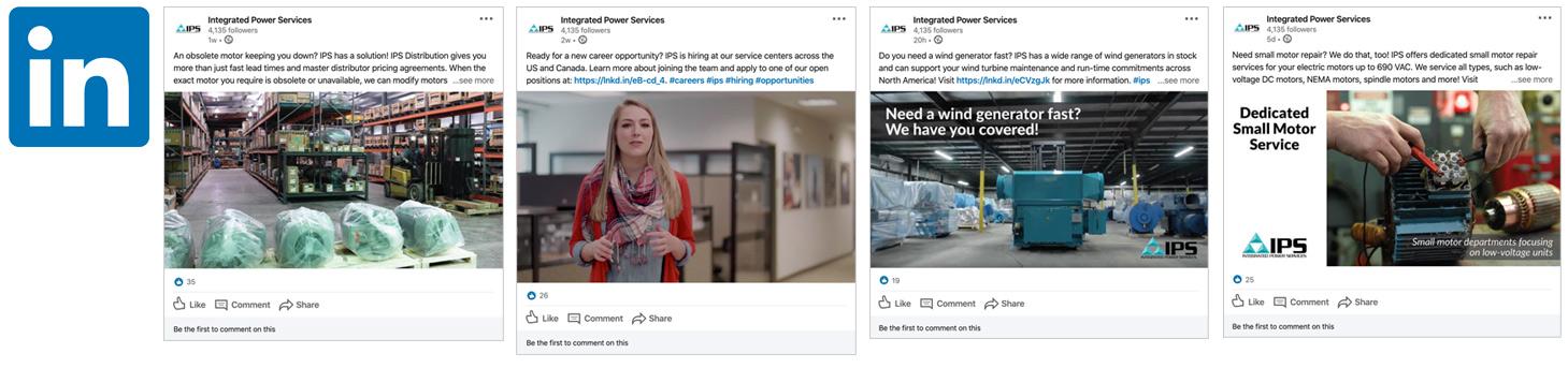 ips linked in - social media