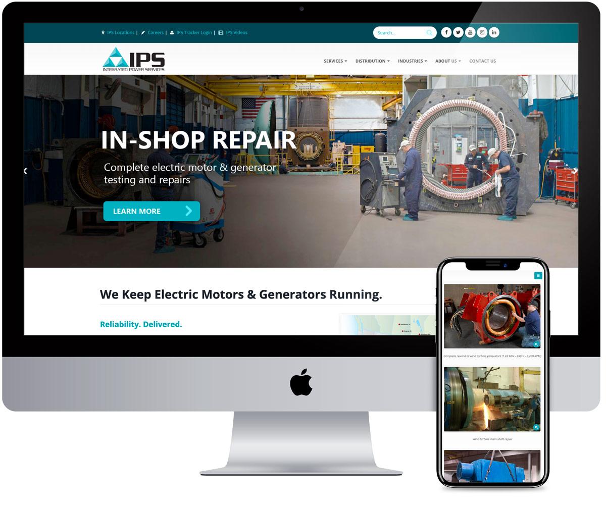 Web Development IPS - radii